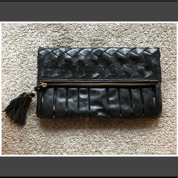 Urban Expressions Handbags - Black Clutch